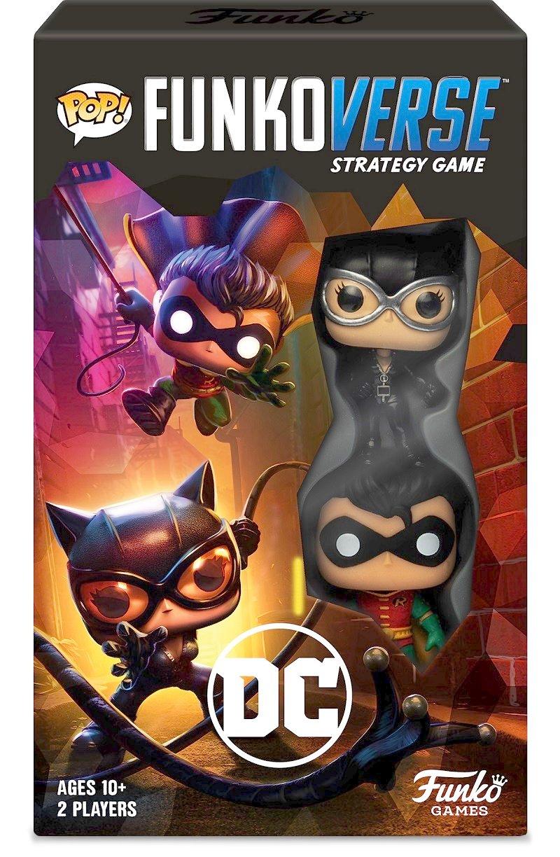 Funkoverse Batman board game contest Robin Catwoman