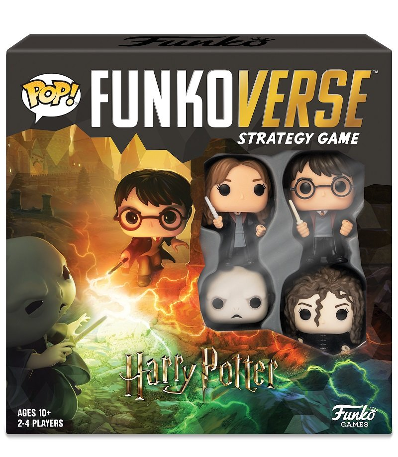 Funkoverse Harry Potter board game contest Voldemort Bellatrix Hermione