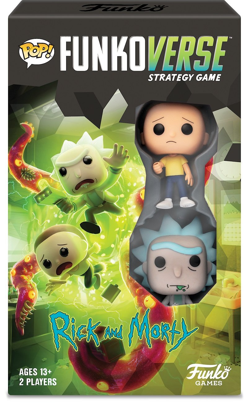 Funkoverse Rick and Morty board game contest