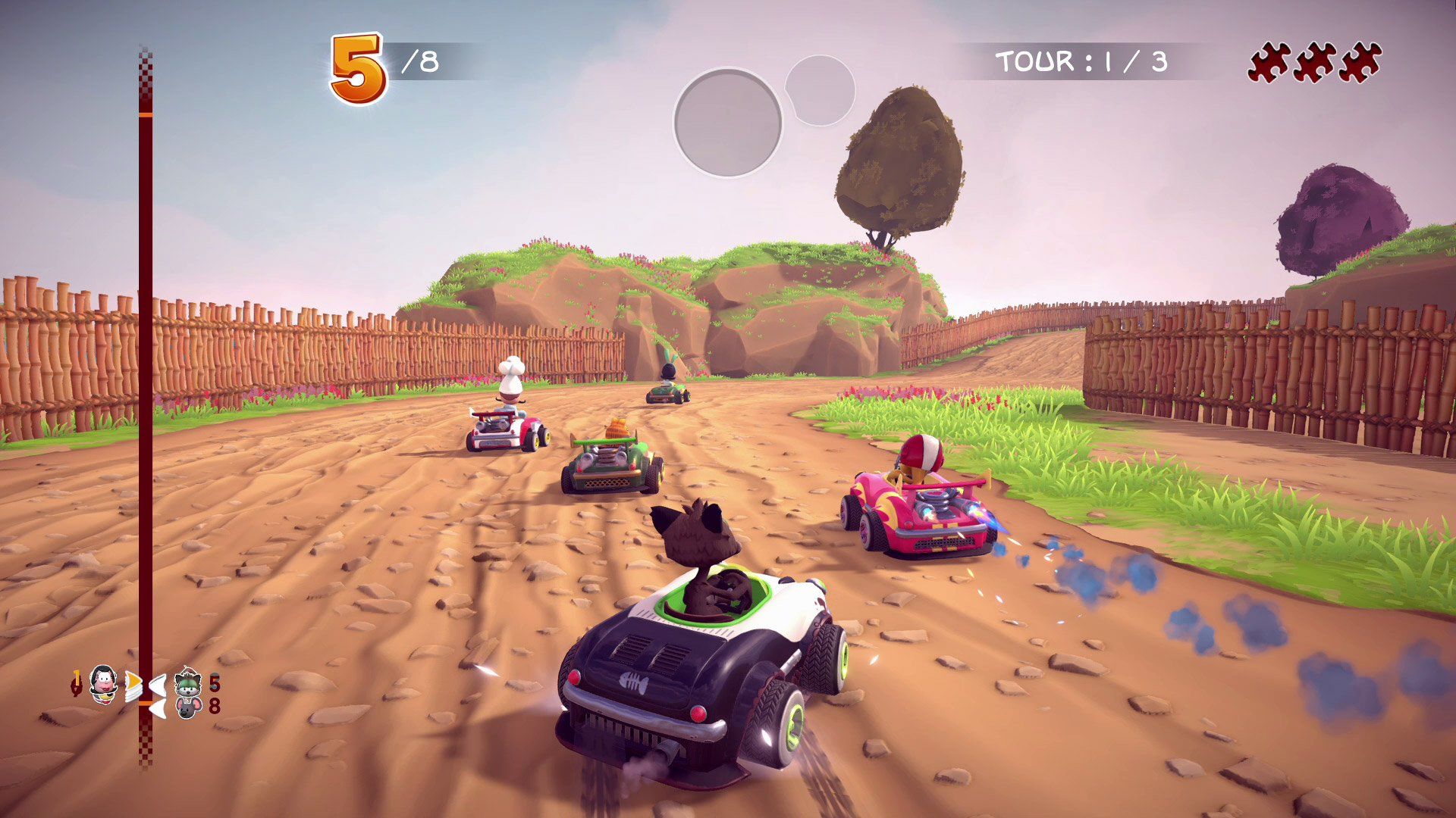 Garfield Kart Furious Racing for PC, PS4, Xbox One, and Switch