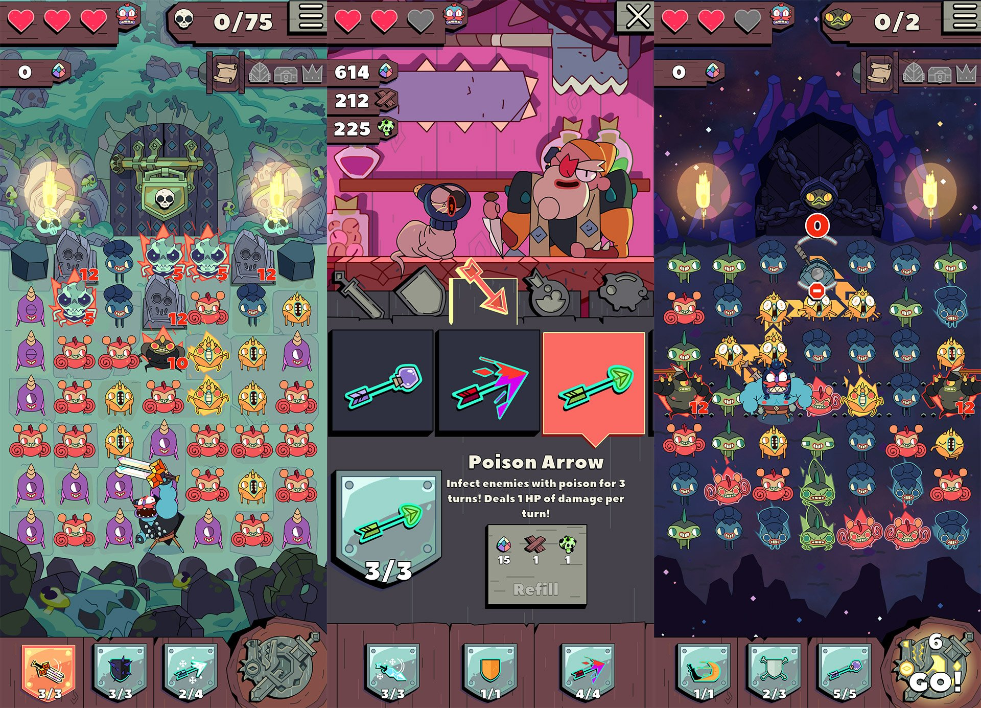 Capybara is back in the puzzle-game business with Grindstone