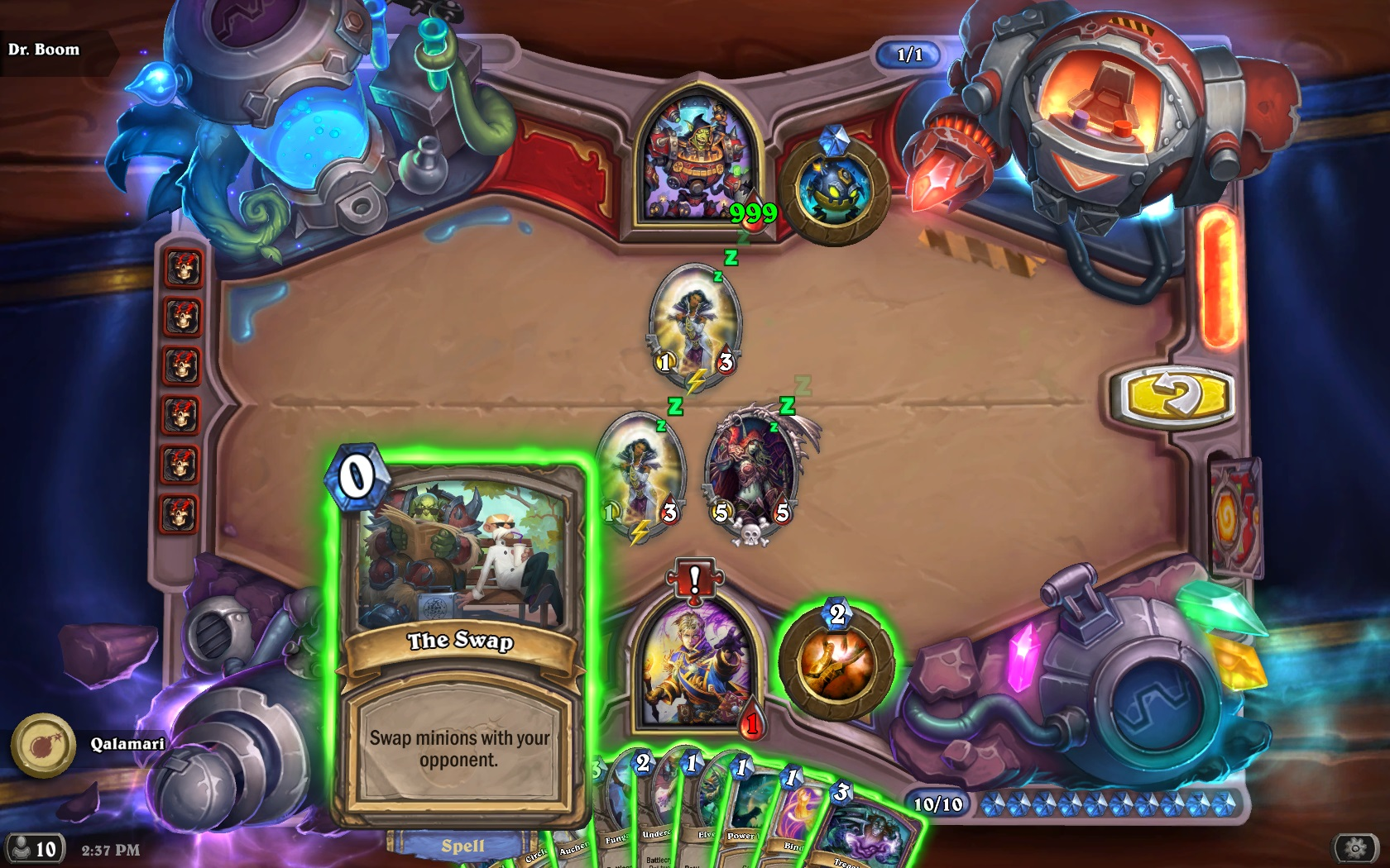Hearthstone: The Boomsday Project review