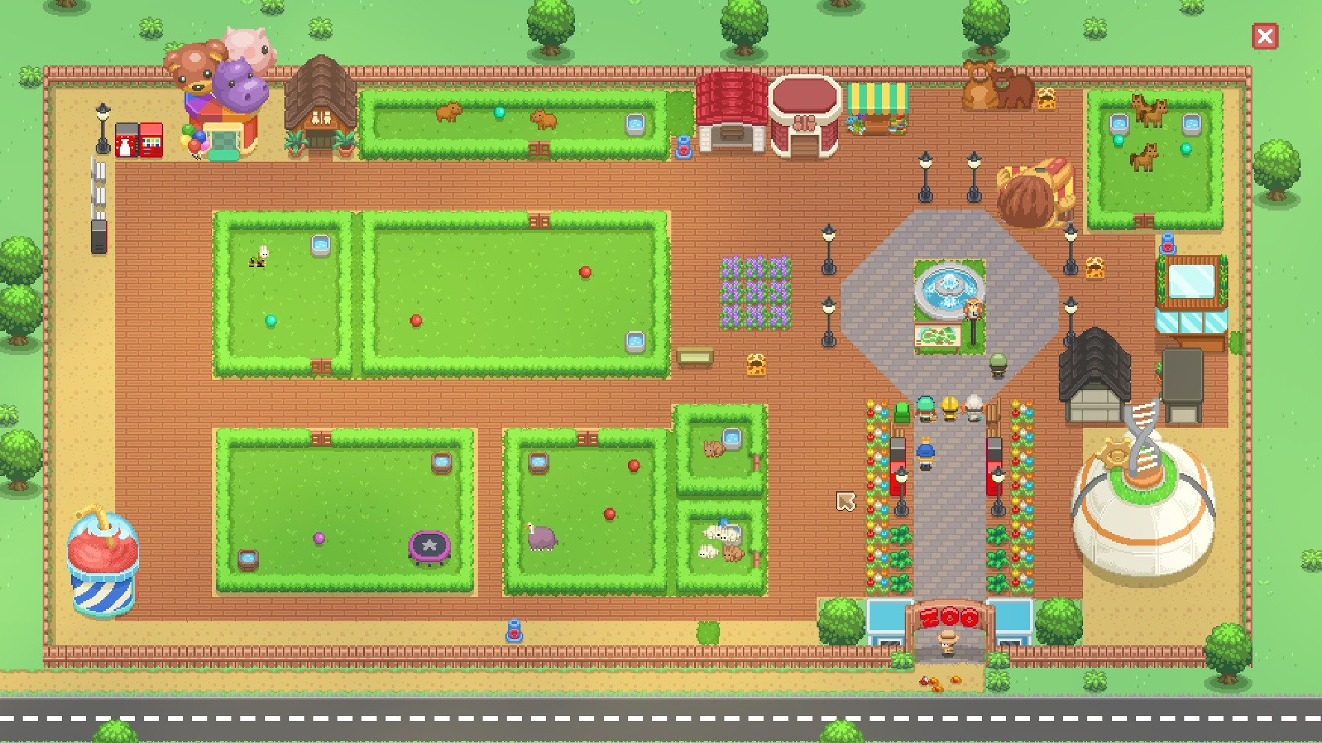 Let's Build A Zoo park screenshot