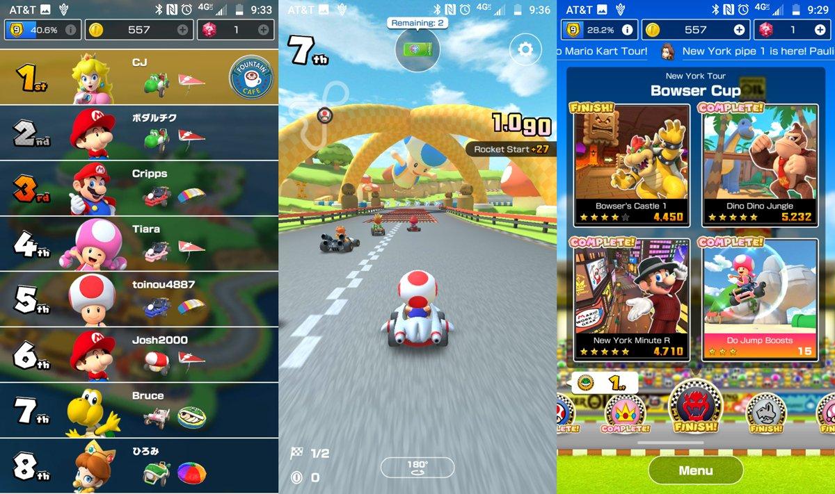 Mario Kart Tour review