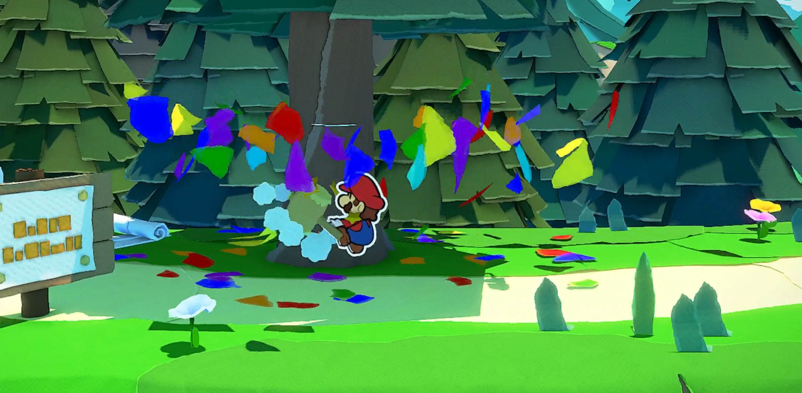 How to get confetti in Paper Mario: The Origami King