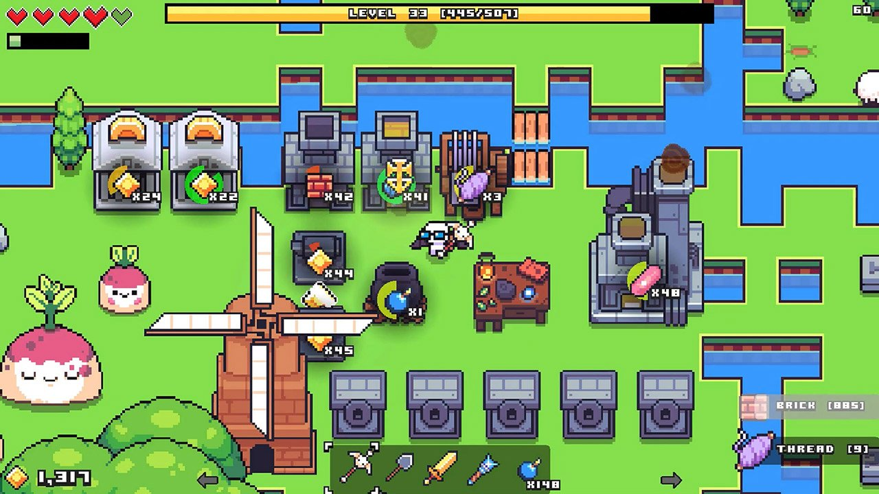 Forager review for Nintendo Switch