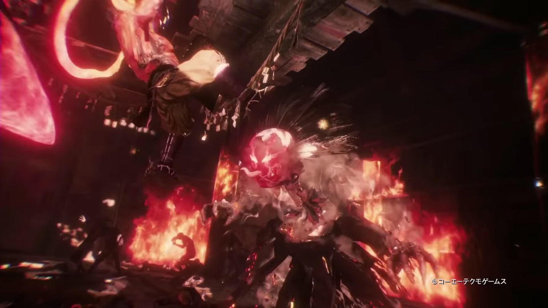 Nioh 2 demon tengu