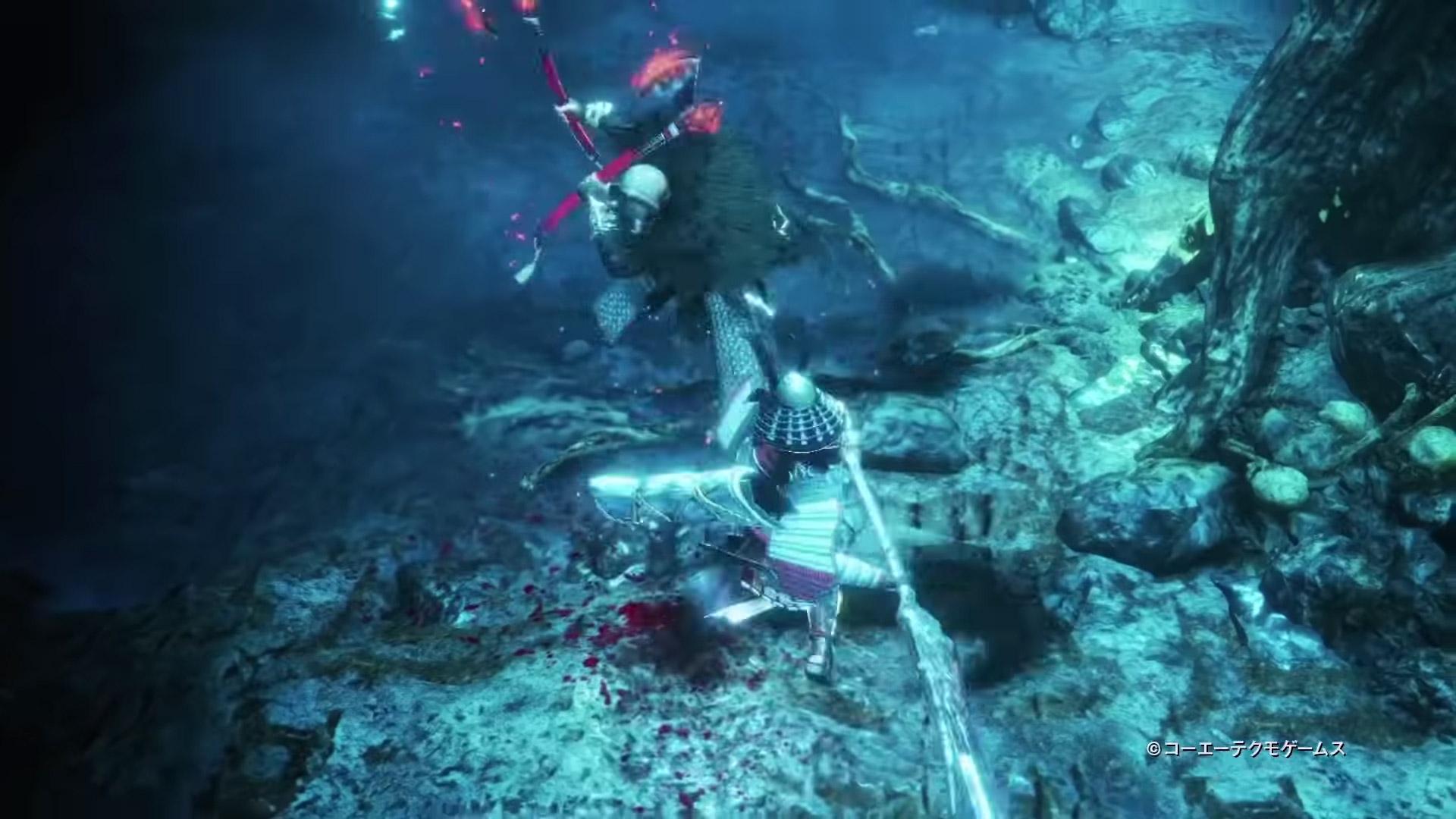 Nioh 2 dual axe enemy