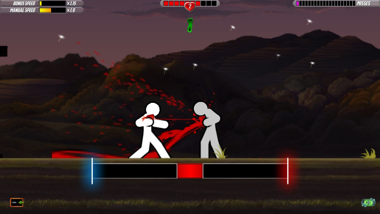 One Finger Death Punch 2 Review Switch