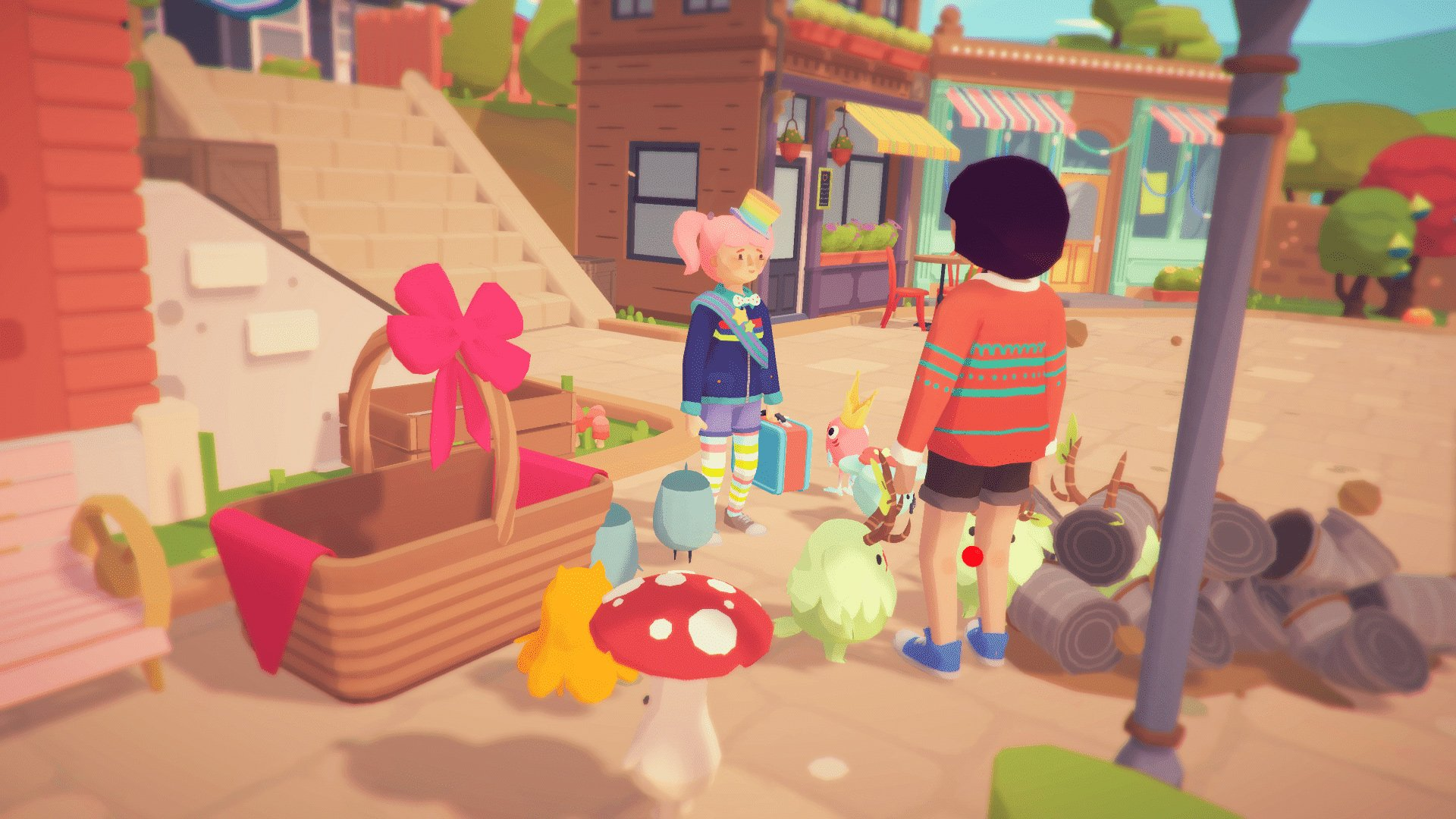 Ooblets town