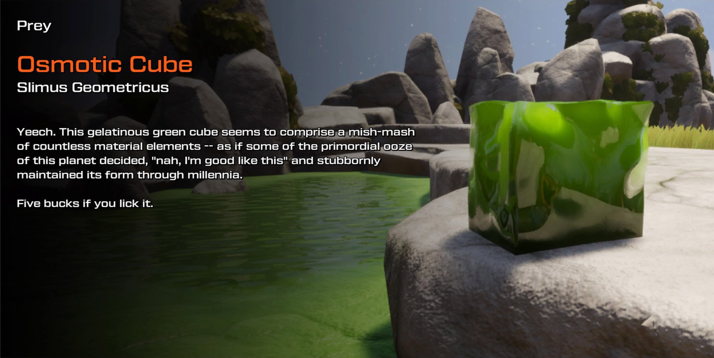 Osmotic Cube