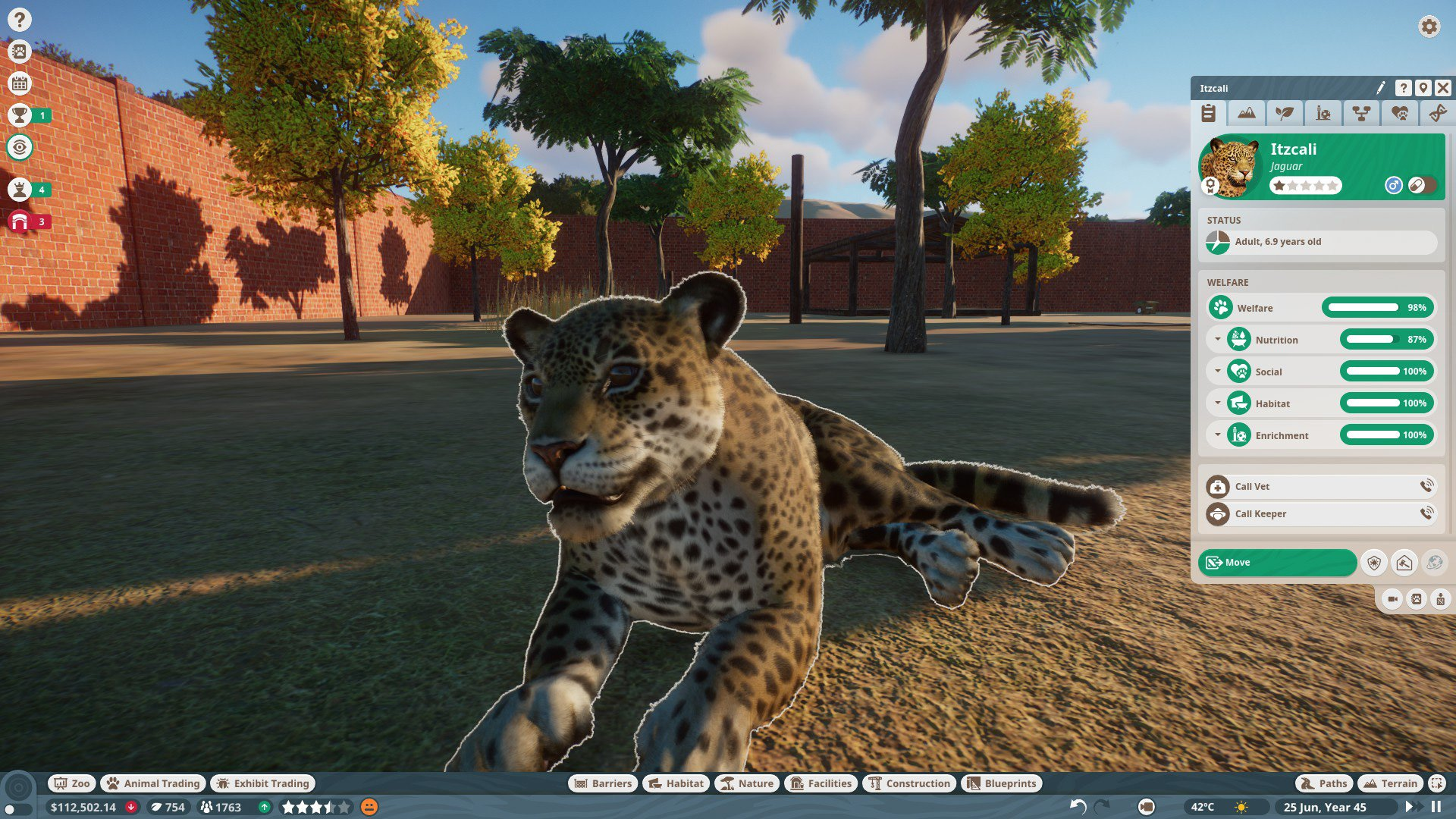 Planet Zoo Jaguar