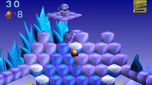Q*Bert on the PC - image from IGN