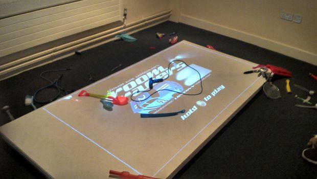 Room Racers looks like a kid's messy bedroom, but is lots of fun