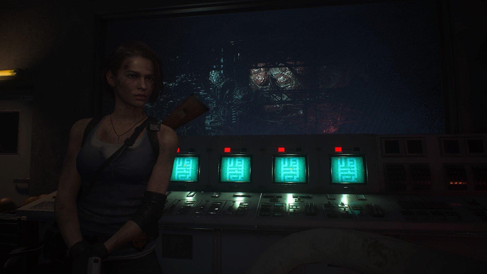 Resident Evil 3 substation