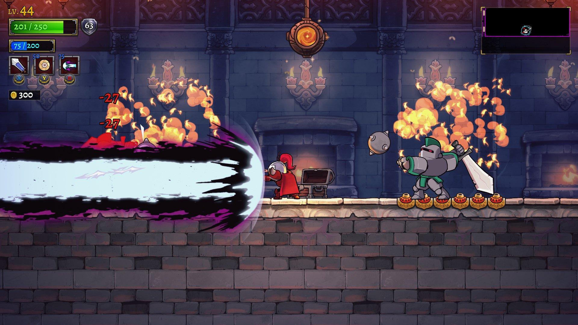 Spells look so flashy in Rogue Legacy 2