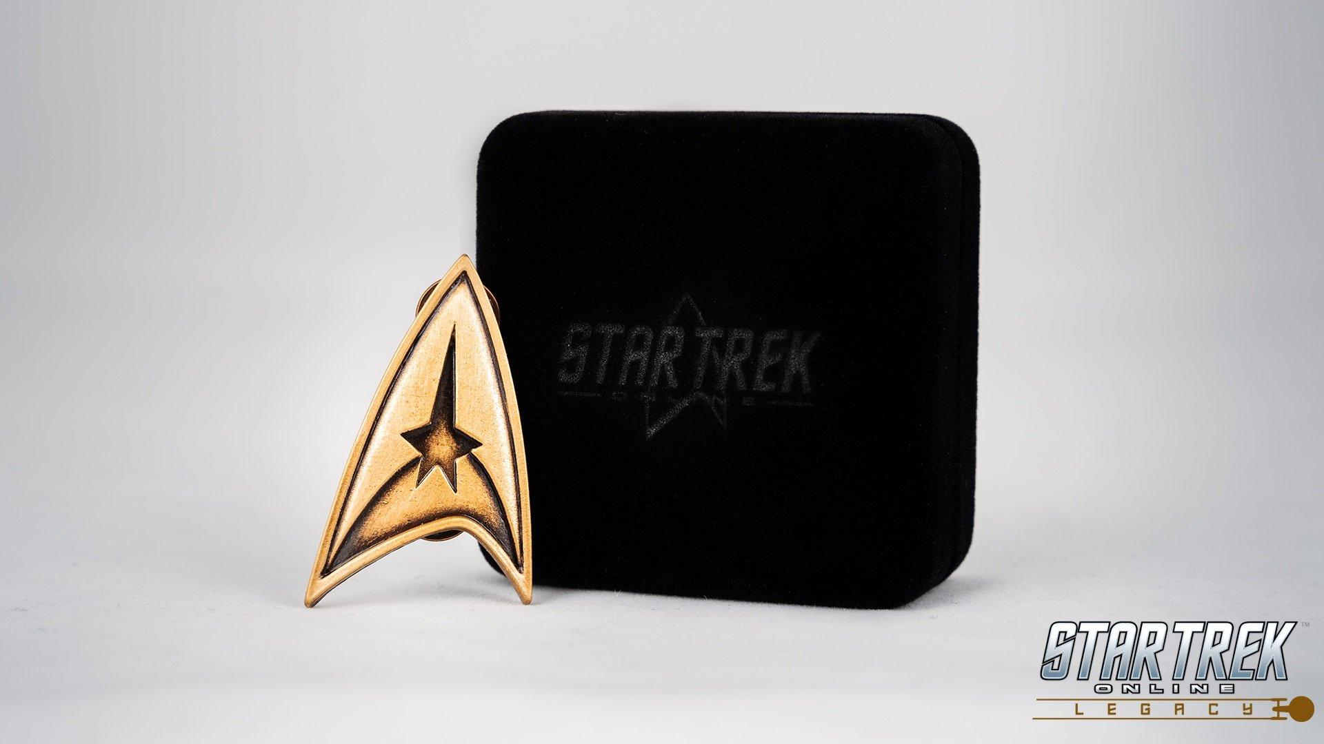 Star Trek Online Anniversary Badge contest Legacy