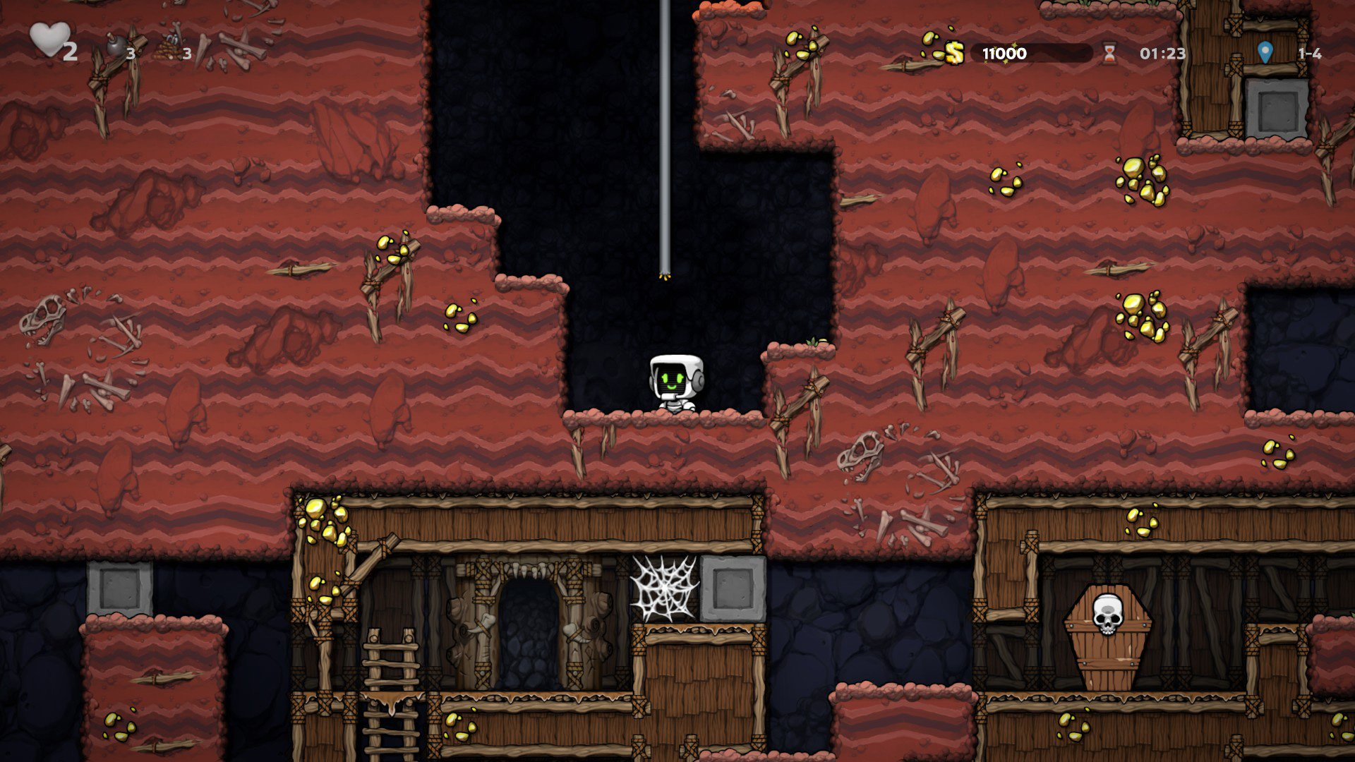 How to enter the secret shop on level 1-4
