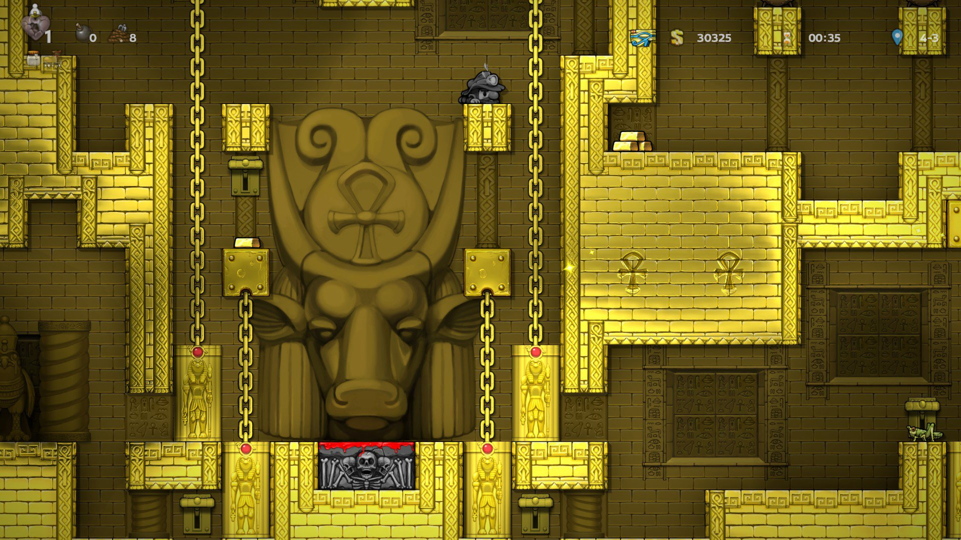 City of Gold altar