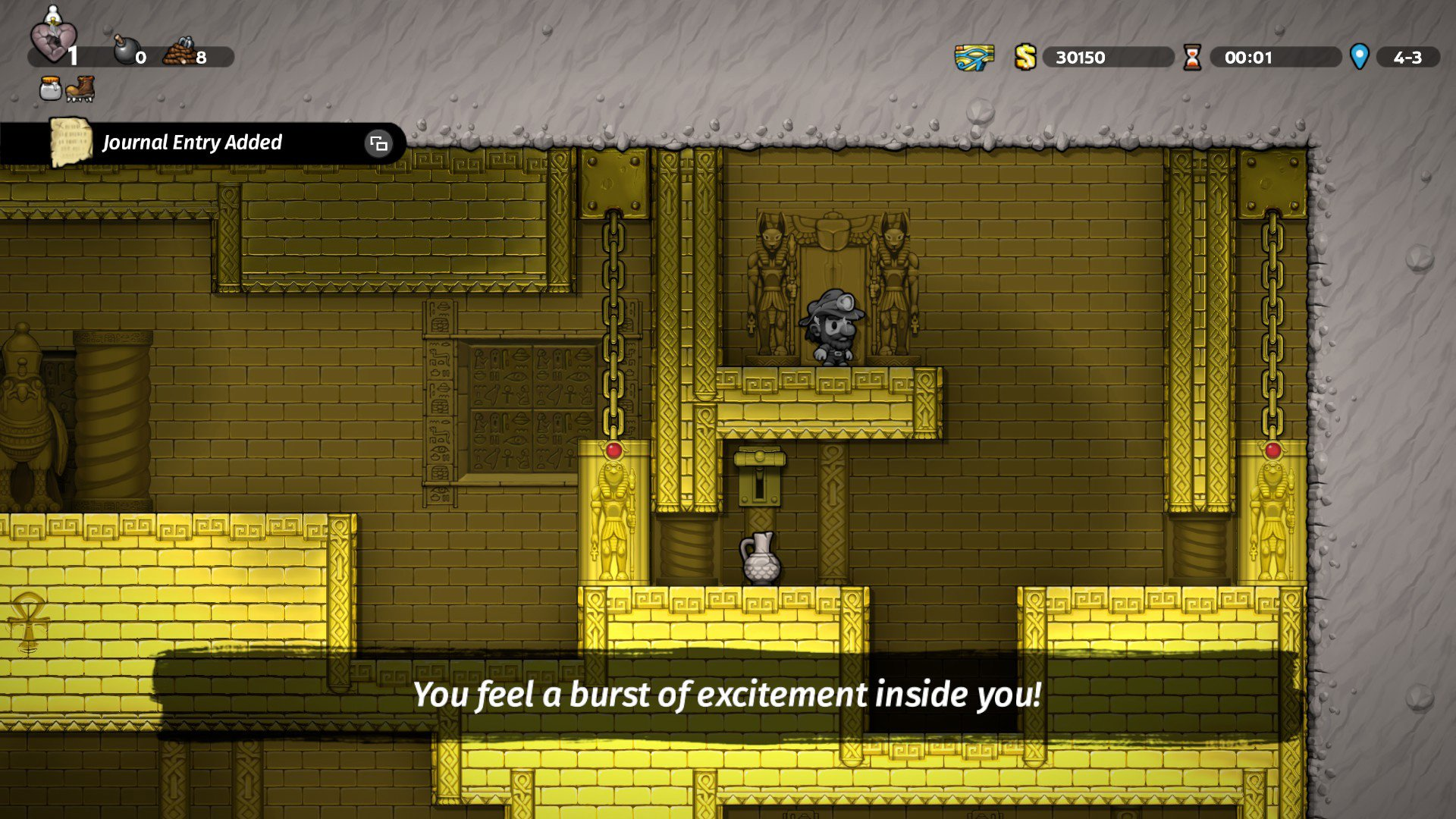 The City of Gold in Spelunky 2