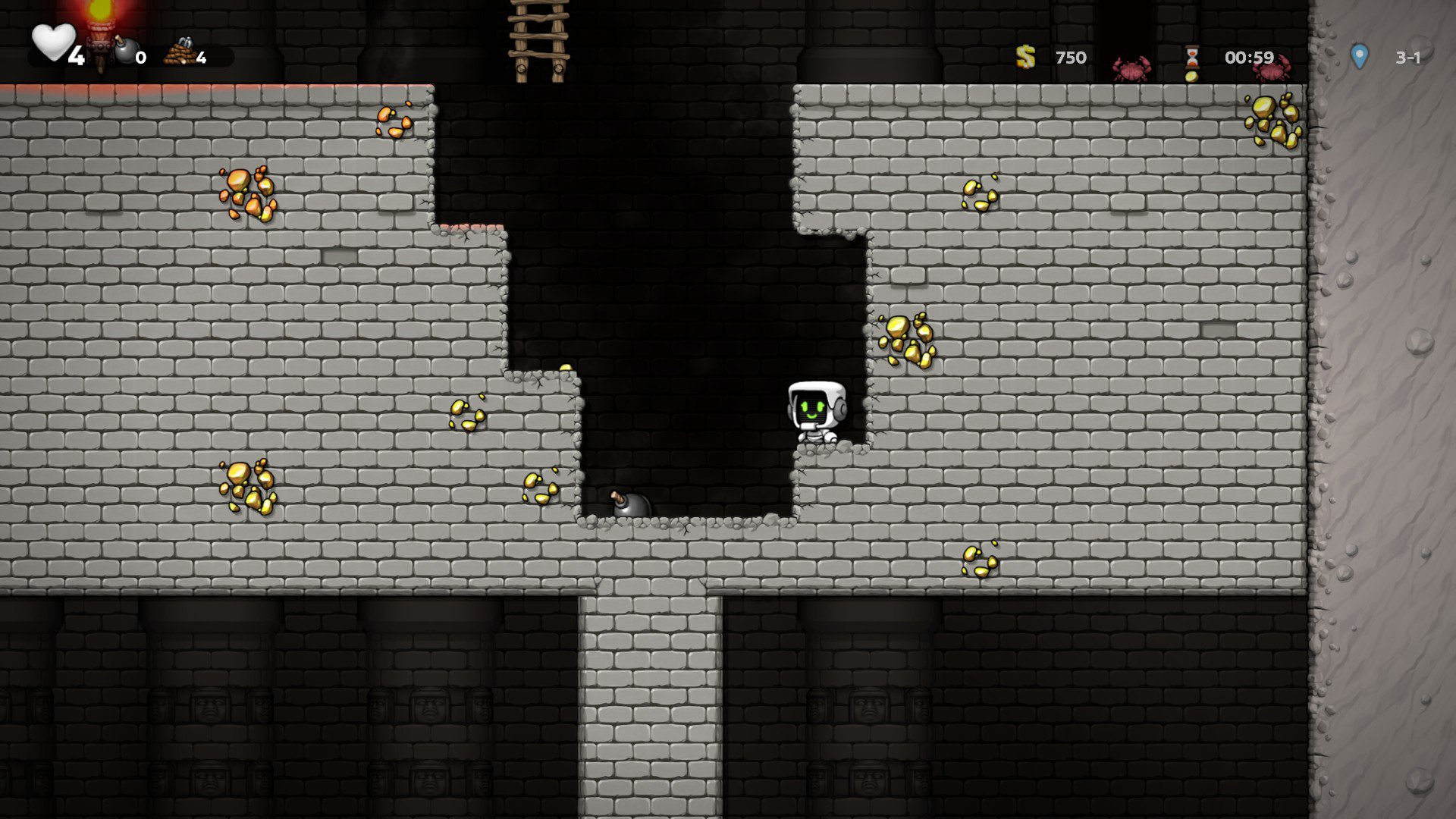 How to access the Temple of Anubis in Spelunky 2