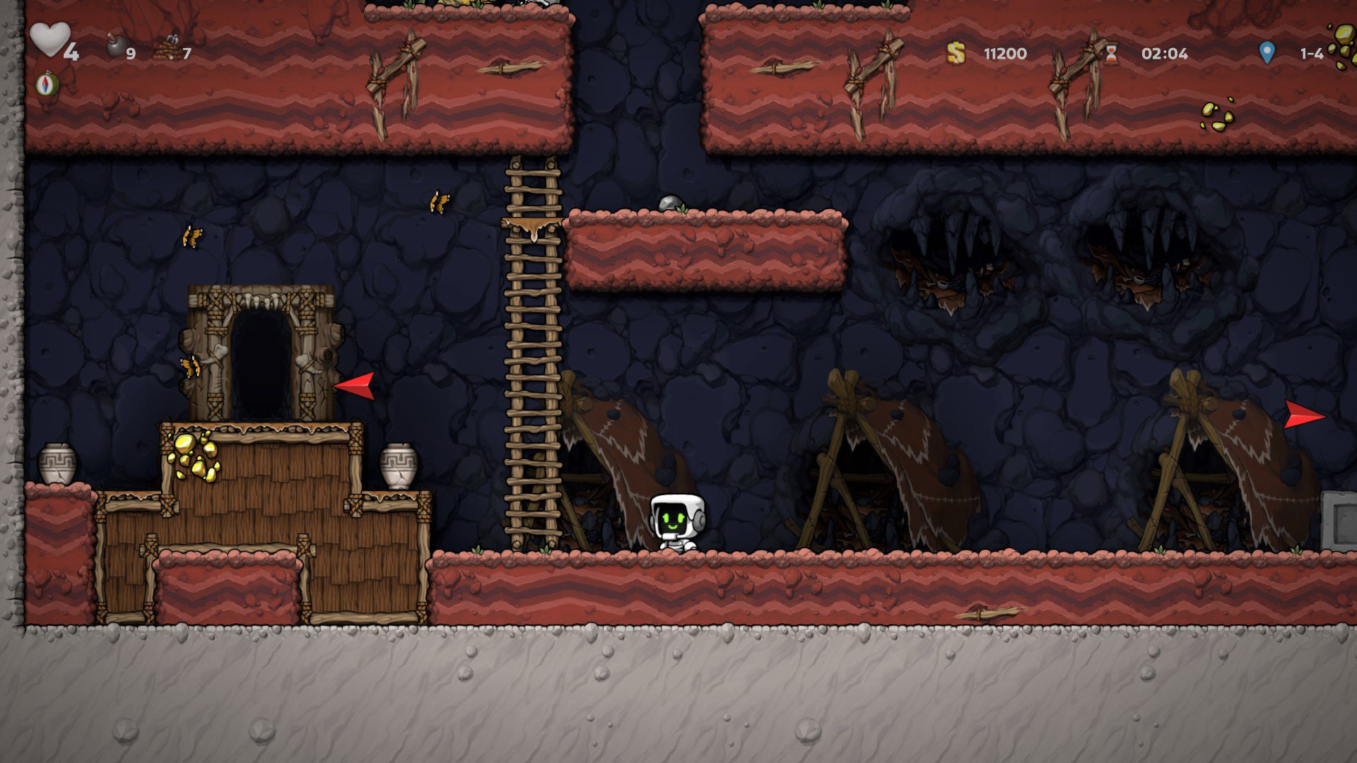 How to access the Jungle in Spelunky 2