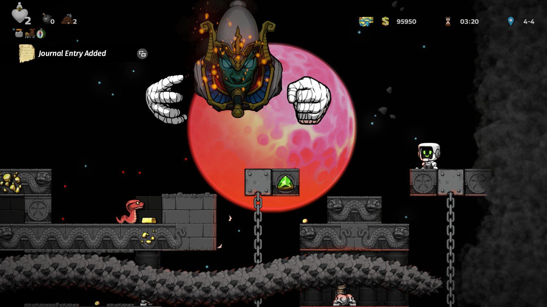 How to beat Osiris in Spelunky 2