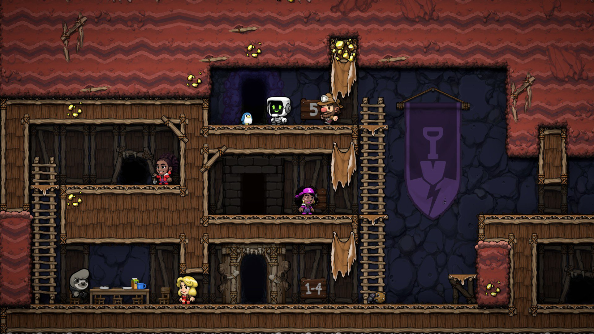 All shortcuts in Spelunky 2