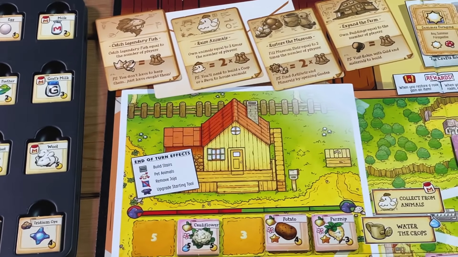 They condensed Pelican Town into a board game.