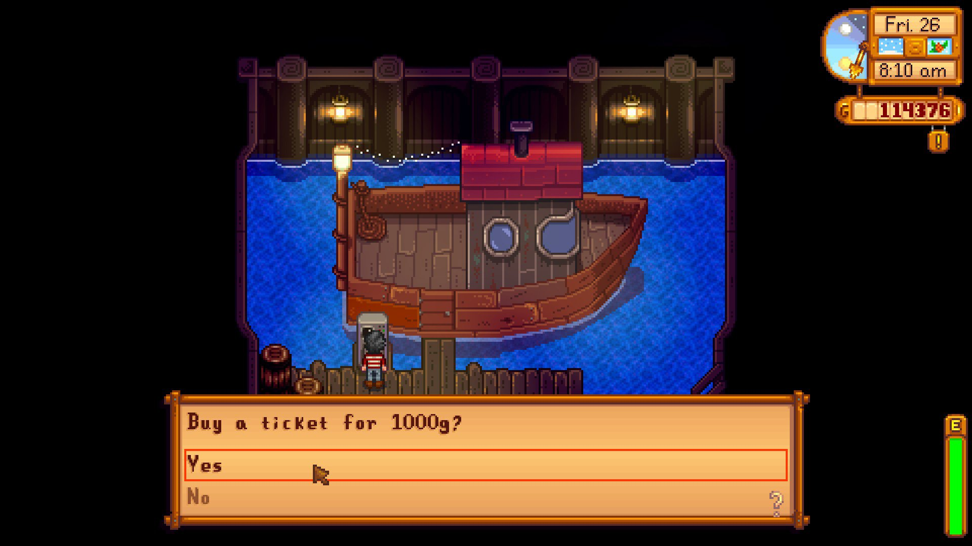 How to sail to Ginger Island in Stardew Valley