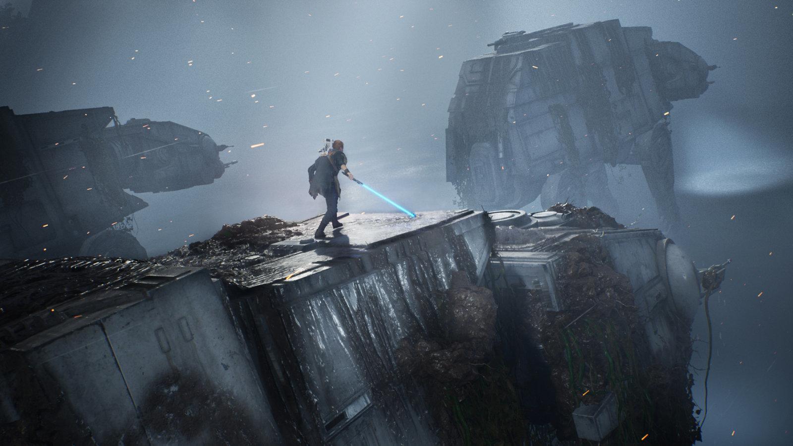 Star Wars JEdi: Fallen Order review in progress