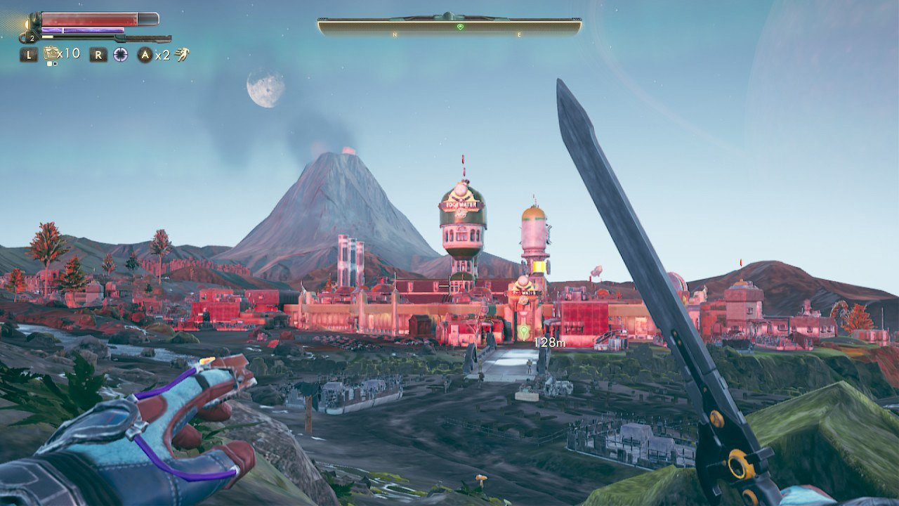 The Outer Worlds Nintendo Switch Terra 2 screenshot