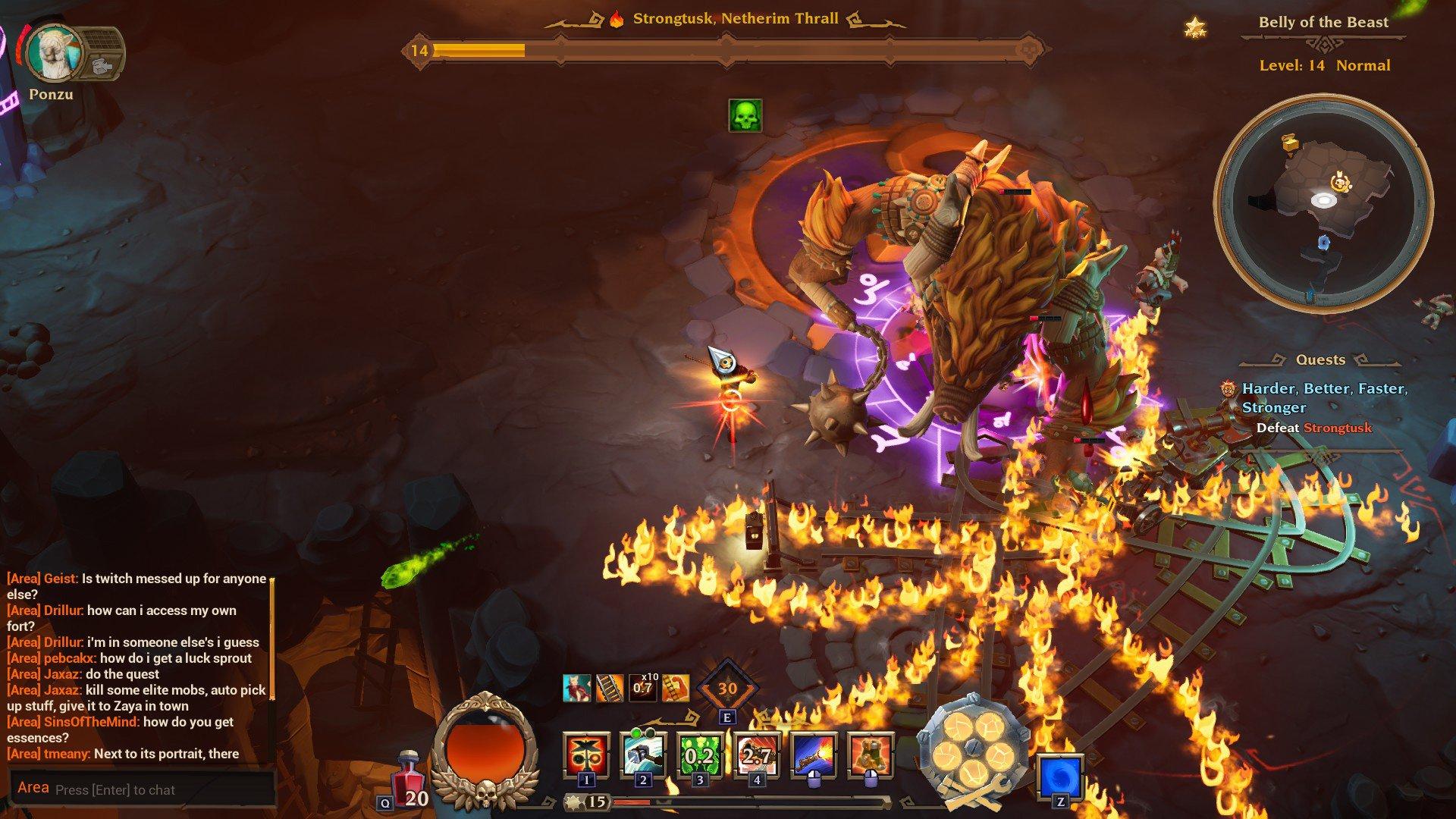Torchlight III boss