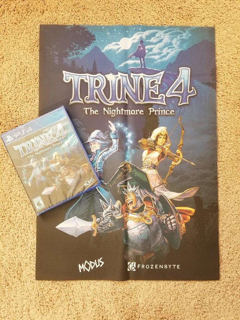 Trine 4 contest PS4 Switch Xbox One PC