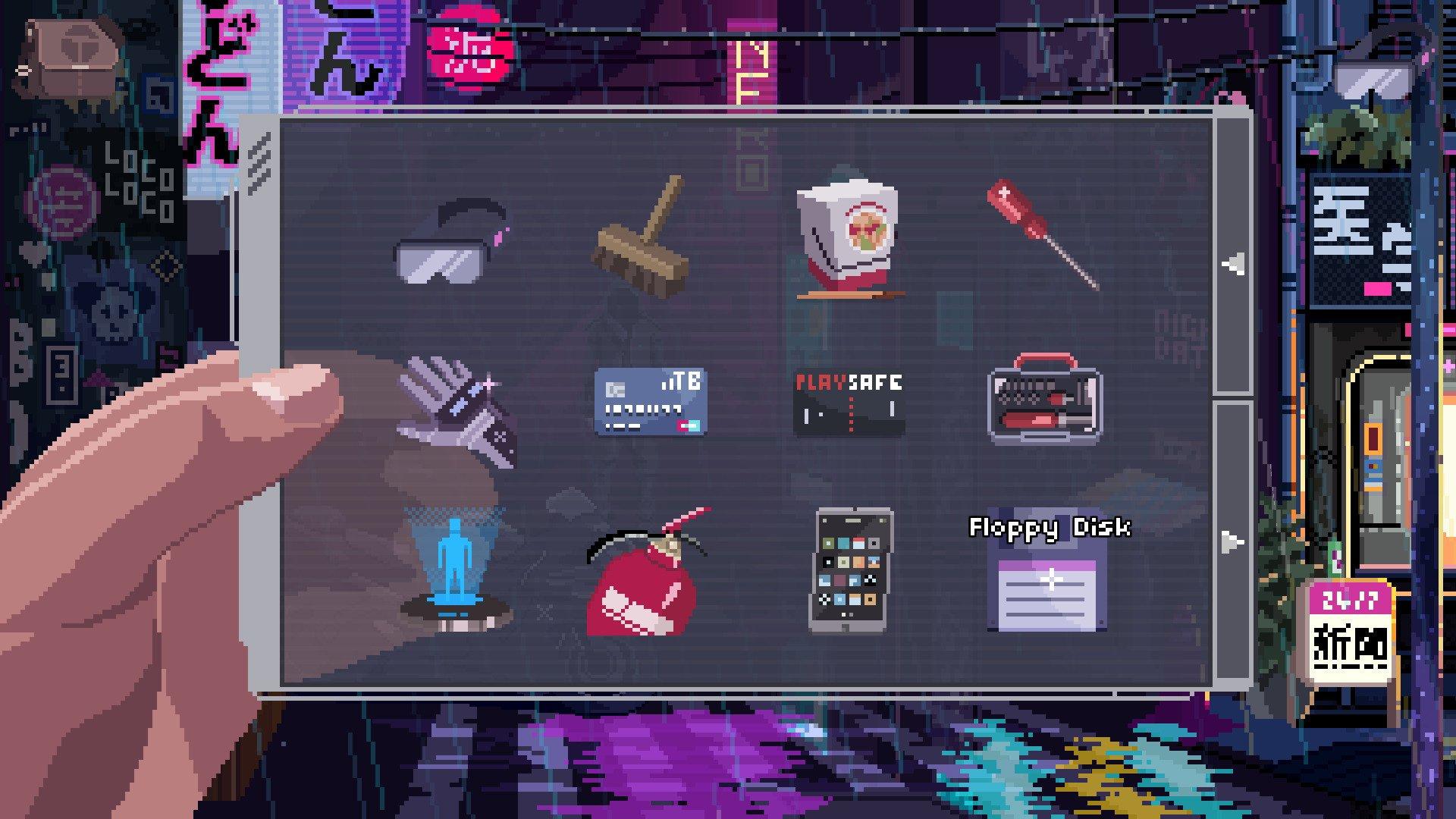 VirtuaVerse inventory