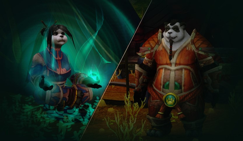 Pandaren from World of Warcraft