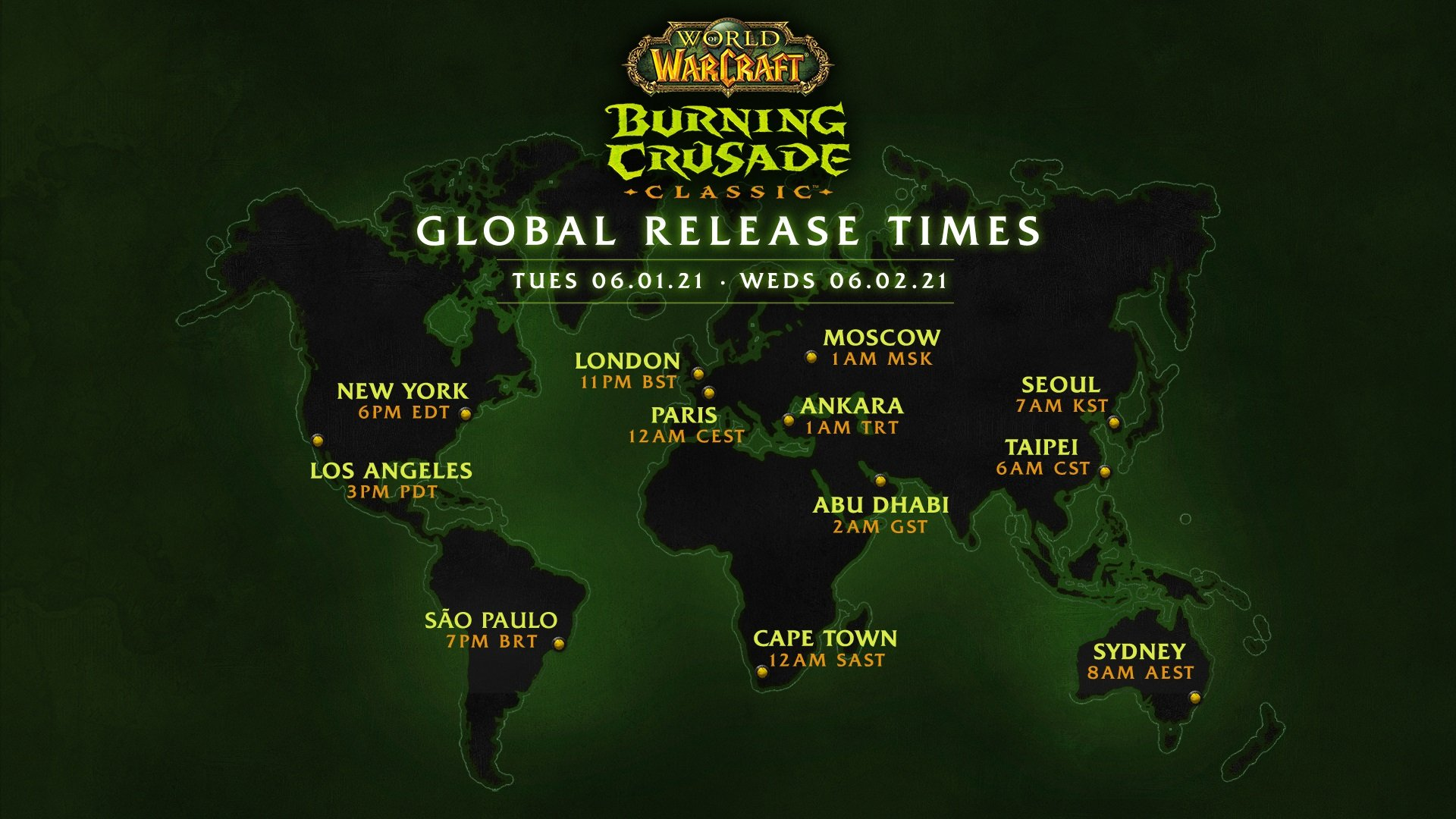 Update Wow Classic Burning Crusade Is Launching Way Sooner Than Expected With Unfortunate Character Cloning Fees Destructoid