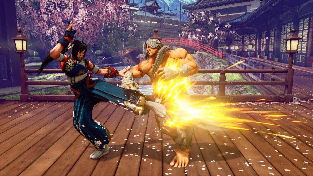 Street Fighter V Hokuto costume
