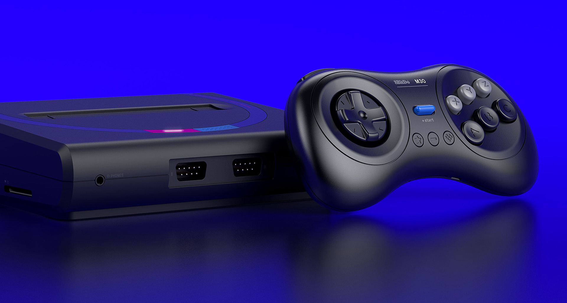 8BitDo's M30 controller for the Mega Sg