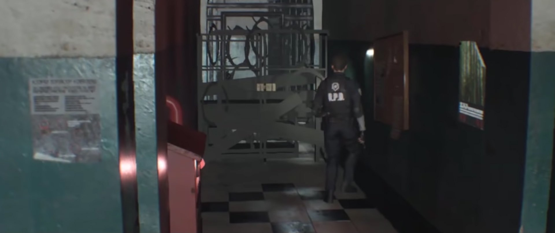 Resident Evil 2 cut content - fixed camera