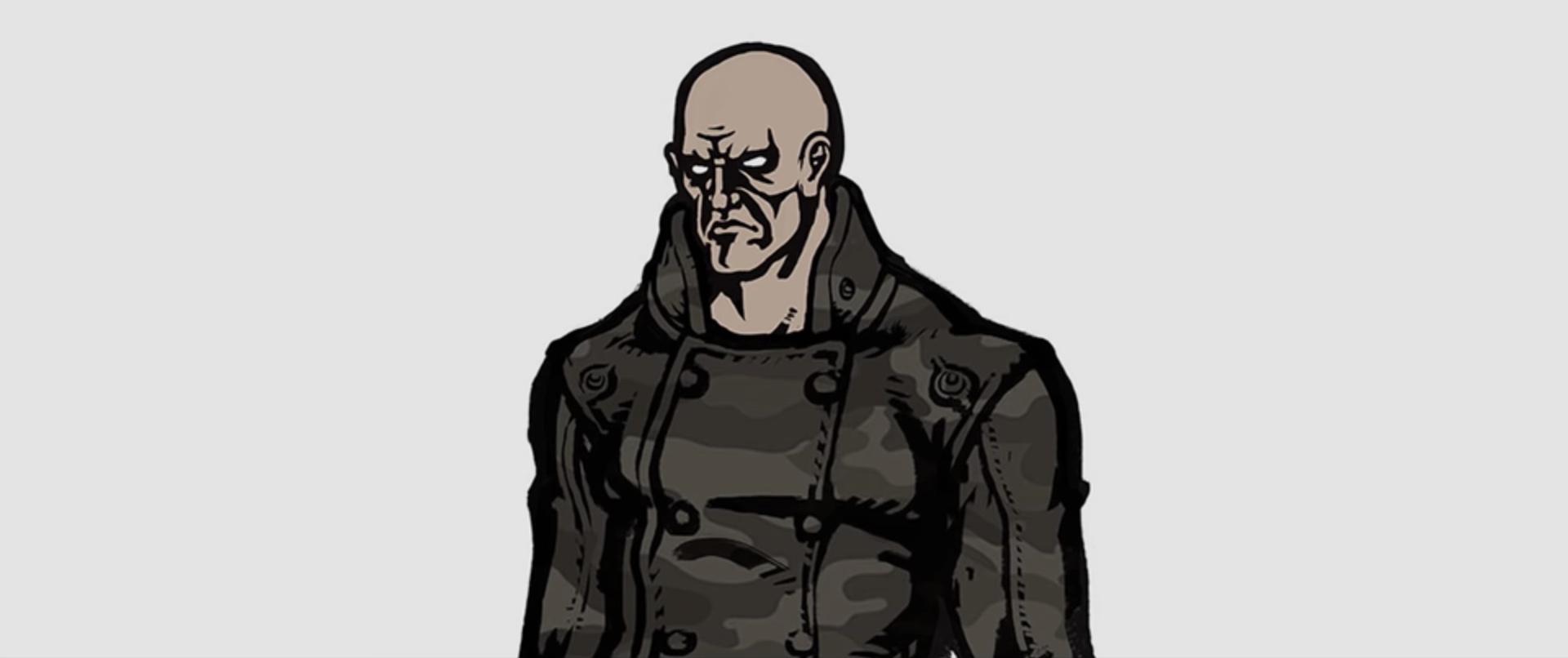 Resident Evil 2 early Tyrant design