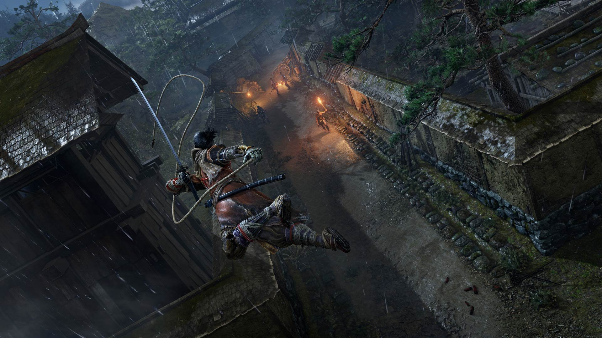 Hirata Estate is an okay starting point on your XP and gold farming journey in Sekiro